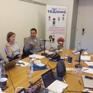 ALL FM Corporate Radio Training Manchester - Hilton Hotels 10