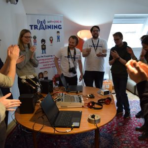 ALL FM Corporate Radio Training Manchester - Magnetic North 9