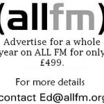 Advertise for a year on ALL FM for only £499.